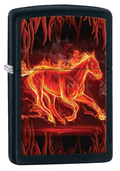 28304ZP Flaming Horse
